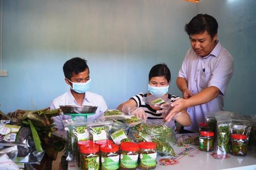 Quảng Ngãi đưa hàng loạt nông sản miền núi vào siêu thị