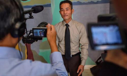 Ông Nguyễn Tùng, một người Việt vừa được chính quyền bang ân xá và tránh được nguy cơ bị trục xuất. Ảnh: ORC.