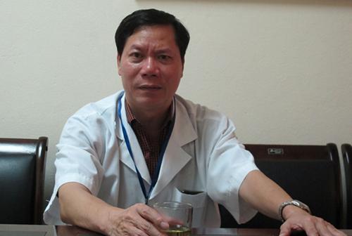 Nguyên giám đốc bệnh viện Trương Quý Dương. Ảnh: N.P.