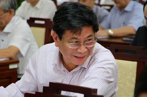 Ông Lê Sĩ Minh, giám đốc Sở Thông tin và Truyền thông nhận phiếu tín nhiệm thấp nhiều nhất. Ảnh: Võ Thạnh