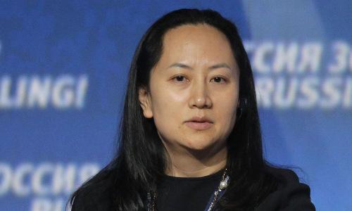 Giám đốc tài chính Mạnh Vãn Chu của tập đoàn Huawei. Ảnh: AFP.
