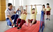 Sakura Montessori giảng dạy chính khóa môn thể chất JACPA Nhật Bản