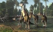Hóa thạch khủng long tìm thấy trong đá quý ở Australia