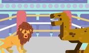 Chiến thuật có thể giúp sư tử đánh bại khủng long bạo chúa