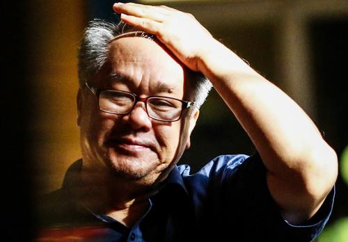 Ông Phạm Công Danh trong lần ra tòa hồi tháng 8. Ảnh: Thành Nguyễn.
