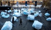 Anh trưng bày 24 khối băng để cảnh báo về biến đổi khí hậu