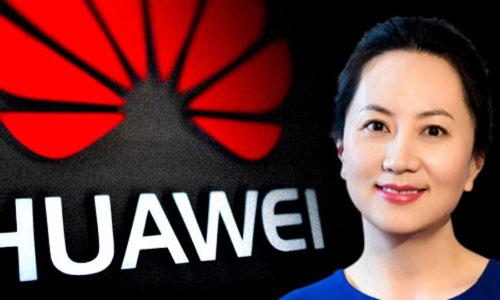 Giám đốc tài chính Huawei Mạnh Vãn Chu. Ảnh: NewDaily.