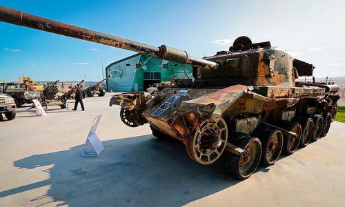 Những vũ khí khác thường của phiến quân Syria bị Nga thu giữ - ảnh 1