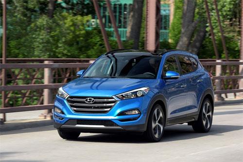 Hyundai Tucson 2017 là xe có chi phí sửa chữa trung bình thấp nhất.