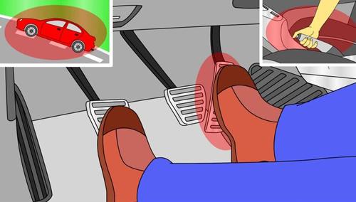 Sau vô lăng - Những tình huống lái xe nên sử dụng phanh tay