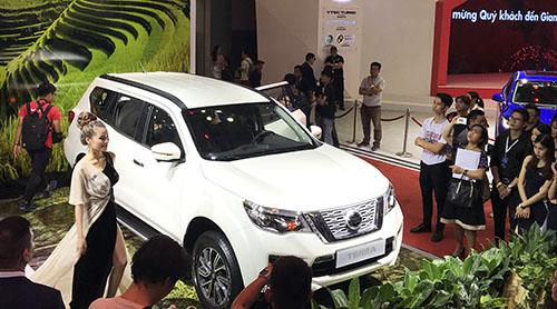 Nissan Terra ra mắt tại triển lãm ôtô Việt Nam 2018. Ảnh: Phạm Trung.