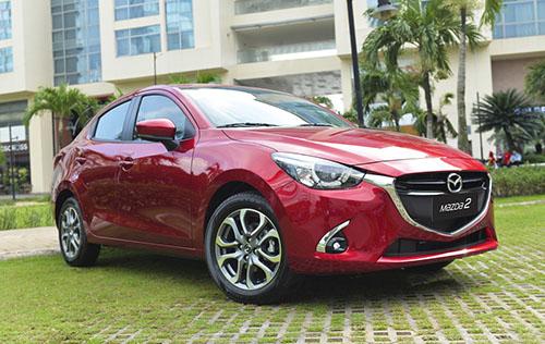 Mazda2 bản cải tiến tại Việt Nam. Ảnh: Đức Huy.