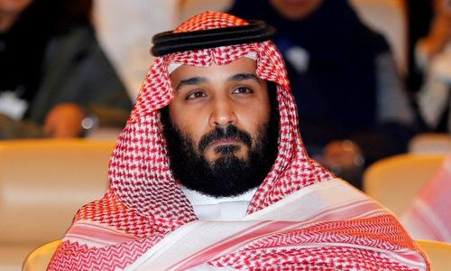 Thái tử Mohammed trong một hội nghị quốc tế hồi năm 2017. Ảnh: AFP.