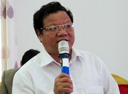 Ông Nguyễn Văn Việt, Phó chủ tịch UBND huyện Hương Khê. Ảnh: P.V