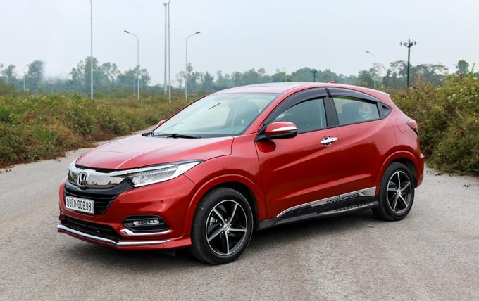 Honda HR-V - có gì sau mức giá lăn bánh gần một tỷ