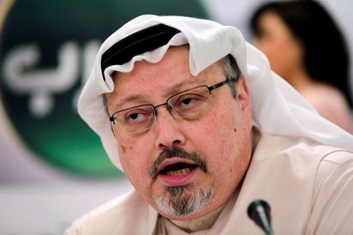 Nhà báo Arab Saudi Jamal Khashoggi. Ảnh: AP.