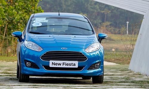 Ford Fiesta đã dừng sản xuất tại Việt Nam trong quý IV.