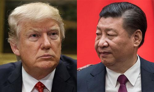 Tập Cận Bình (trái) gặp Donald Trump khi đến thăm Mỹ năm 2017. Ảnh: Reuters.