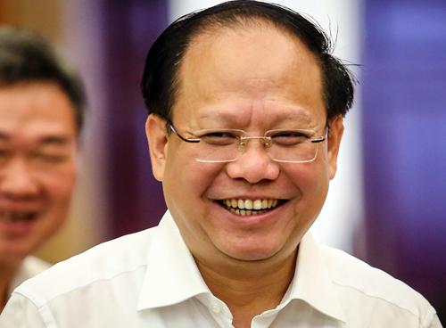 Phó bí thư Thường trực Tất Thành Cang. Ảnh: Thành Nguyễn.