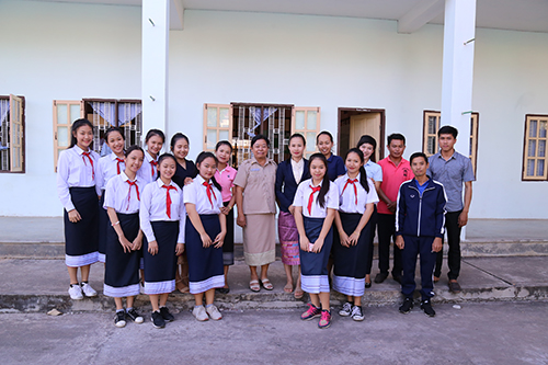 Sau nhiều năm có sự giảng dạy của các giáo viên Việt Nam, học sinh Việt kiều mạnh dạn hơn trong giao tiếp tiếng Việt. Ảnh:Hoàng Táo
