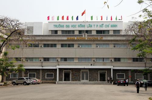 Cơ sở chính Đại học Nông Lâm TP HCM. Ảnh: Mạnh Tùng.