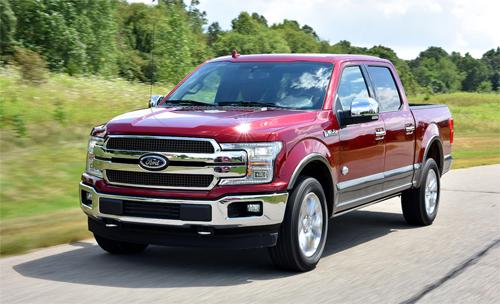 10 mẫu ôtô bán chạy nhất tại Mỹ năm 2018 - 1