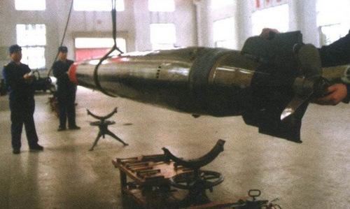 Ngư lôi Yu-4 trong một nhà máy sản xuất năm 1985. Ảnh: Sina.