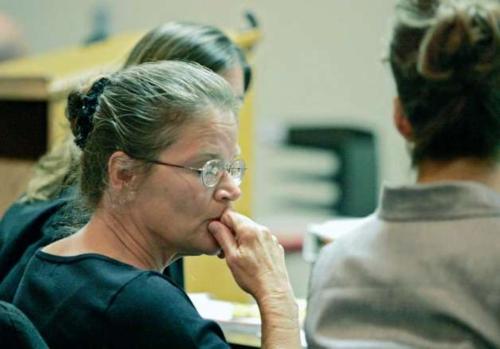 Debora Green tại phiên tòa.