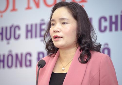 Thứ trưởng Bộ Văn hóa - Thể thao và Du lịch Trịnh Thị Thủy. Ảnh: Trần Duy.