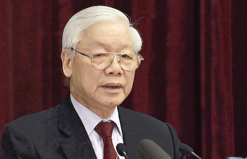 Tổng bí thư, Chủ tịch nướcNguyễn Phú Trọng. Ảnh: VGP