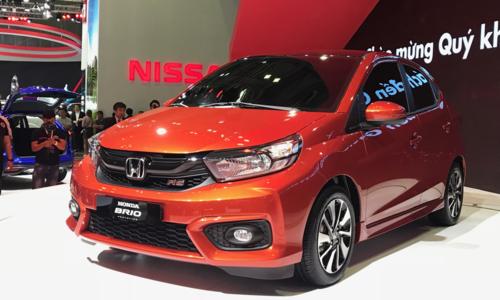 Dai ly mo dat coc Honda Brio - canh tranh Hyundai i10 tai Viet Nam