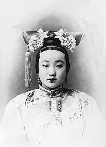 Trân phi, người vợ được hoàng đế Quang Tự rất sủng ái. Ảnh: Sohu.