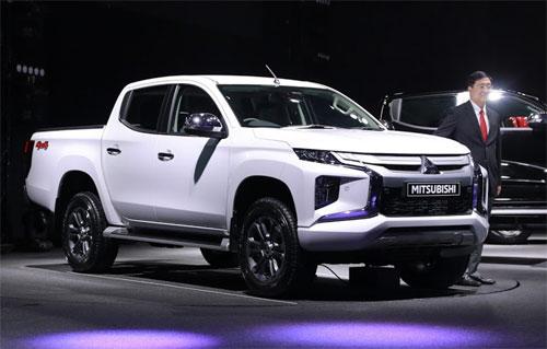 Mitsubishi Triton 2019 sap ra mat Viet Nam tang gia nhe