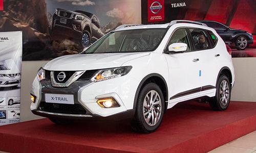 Nissan X-Trail giam gia 30 trieu kich cau cuoi nam