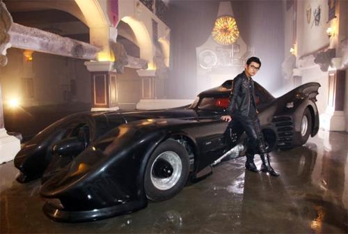 Chiếc Batmobile được Châu Kiệt Luân đặt mua hồi đầu năm 2014.