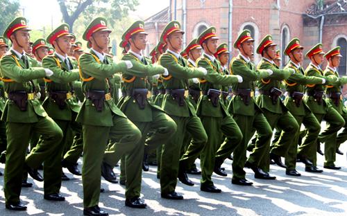 Bộ Công an sẽ có tối đa 6 Thượng tướng, 35 Trung tướng. Ảnh: Xuân Hoa.