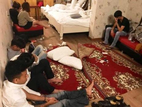 18 người tổ chức tiệc ma túy thâu đêm trong khách sạn