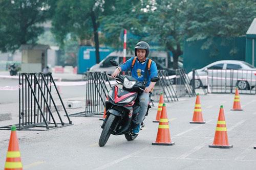 SYM gioi thieu Star SR 170 - xe con tay doi dau Exciter va Winner