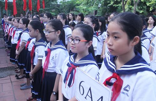 Thí sinh thi THPT quốc gia năm 2018 tại TP HCM. Ảnh: Thành Nguyễn
