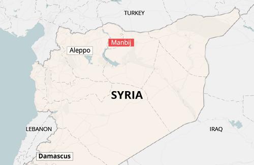 Quân đội Syria tiếp quản thành phố chiến lược từ dân quân người Kurd - ảnh 2