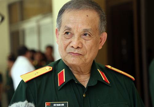 Thiếu tướng Bùi Thanh Sơn. Ảnh: Phước Tuấn.