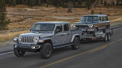 Jeep Gladiator.