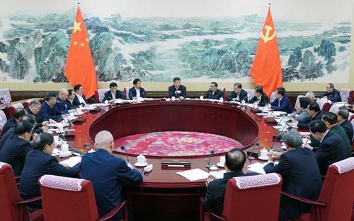 Bộ Chính trị Trung Quốc họp tại Bắc Kinh hôm 25/12. Ảnh: Xinhua.