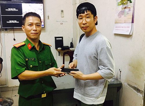 Đặc nhiệm truy đuổi cướp ở phố Tây Sài Gòn