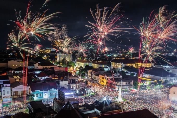 Những khoảnh khắc ấn tượng nhất trong lễ đón năm mới 2019 trên thế giới