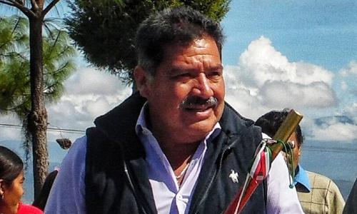 Alejandro Aparicio Santiago, tân thị trưởng thành phố Tlaxiaco, bang Oaxaca, Mexico. Ảnh: NBC.