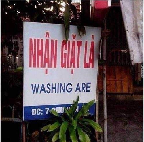 Tiếng Anh đậm chất Việt Nam.