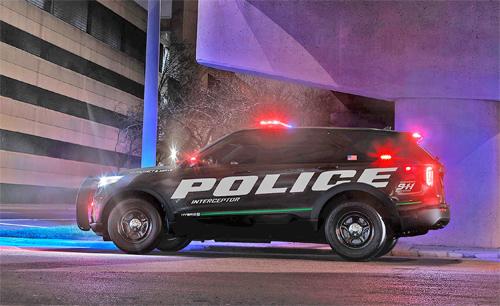 Thế hệ mới của mẫu SUV dành cho cảnh sát có thêm phiên bản động cơ hybrid.