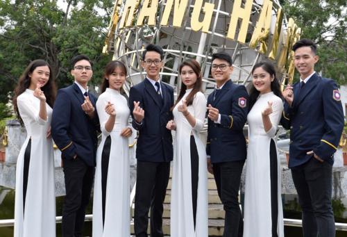 Sinh viên Đại học Hàng hải Việt Nam. Ảnh: VMU