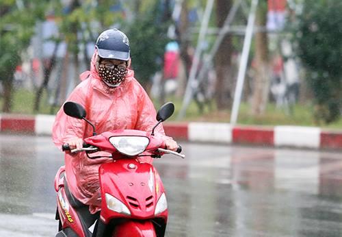 Hà Nội dự báo sẽ có mưa vừa ngày 8-9/1. Ảnh: Ngọc Thành